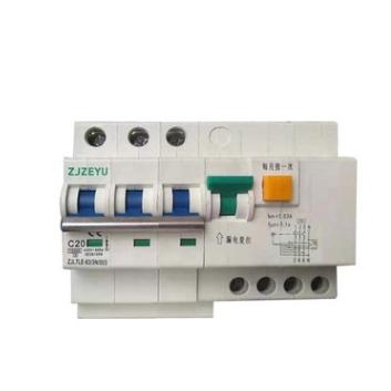 3P+N拼装式 L7LE-63 漏电断路器 RCBO RCCB MCB 厂家直销