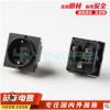 德规插座AC德式PUD机柜插座德标2孔电源插座插座批发量大从优