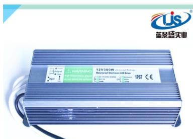 12v300w防水电源 24v300w防水电源 led防水电源12V300W 24V300W