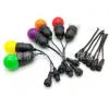 厂家专业生产防寒耐热户外专用橡胶线E27 E26防水灯串线
