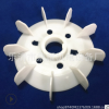 电动机塑料风叶耐高温电机风扇叶Y250-4.6.8电机配件国标尺寸