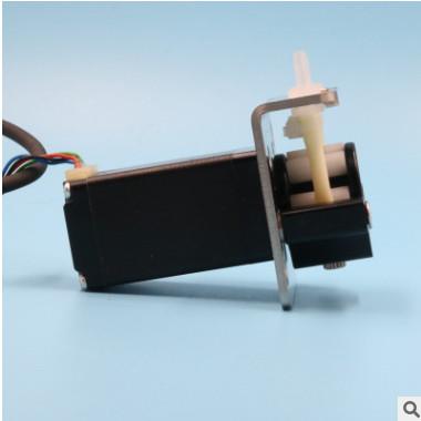 微型蠕动泵12v步进电机小型水泵直流吸水泵24v脉冲泵不锈钢抽水泵