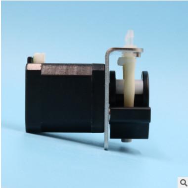 微型蠕动泵24V小型自吸泵12V高精度耐腐蚀42步进电机吸水抽水泵