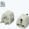 厂家供应 三孔电源插座 WH-187 转换插头 万能电源插座 质量保证