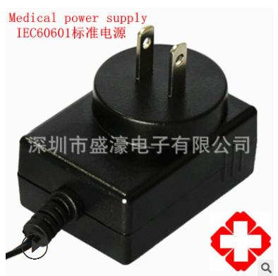 厂家直销36W 5V 6V 12V 24V 0.1-6A 医疗电源 IEC60601认证 20KV