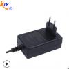 供应24V1.5A电源适配器欧规适配器 36W小家电监控开关电源适配器