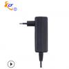 供应欧规24V1.5A电源适配器 36W黑色小家电监控开关电源适配器