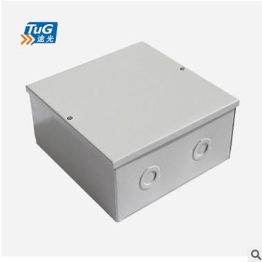 厂家直销 200*200明装挂墙 暗装入墙铁质过线盒,过路盒