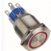 【厂家直销】YJ GQ19F-11E/N 平钮 环形带灯 高钮 带灯带锁