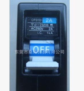 全新小型富士微型断路器带辅助触点CP31D-2W