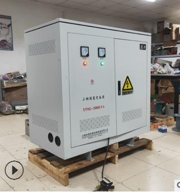 300KVA/KW变压器 3相380V转3相440V 460V三相四线制50Hz/60Hz通用