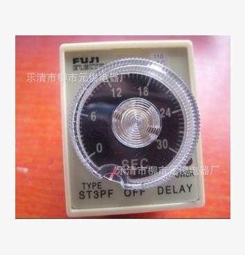 富士断电延时继电器 超级时间继电器ST3PF ST3PF T1 定时器