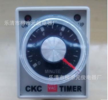 现货高品质CKC时间继电器AH3-3 DC24V 时间可选 质保一年