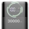 DUDAO/独到30000毫安移动电源液晶屏数显K8max大容量手机充电宝