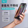 ROMOSS/罗马仕10000毫安WSL10无线充电宝10W双向快充手机移动电源