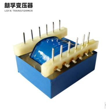 厂家定制EI型电源变压器6+6插针式变压器插针音响用音频变压器