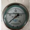 厂家直销轴向带边耐震压力表 不锈钢耐震压力表 304耐震压力表