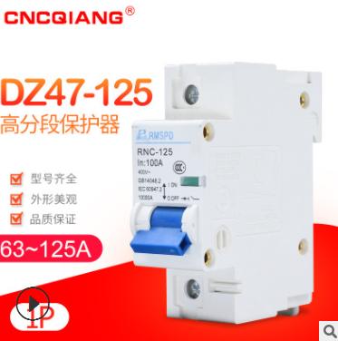 DZ47-100/1P 高分断小型断路器RNC-100A输配电