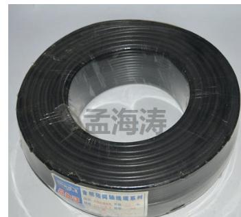 批发供应 多芯SYV75-3-1纯紫铜线芯视音频线同轴电缆 电线电缆