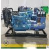 潍坊20千瓦柴油发电机组 20kw静音柴油发电机组 全自动三相发电机