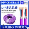 DeviceNet工业总线屏蔽双绞通信线工业自动化通讯数据控制电缆