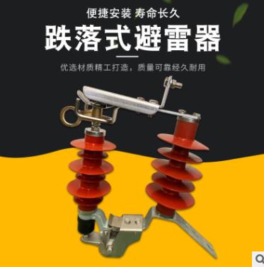 厂家定制跌落式避雷器氧化锌避雷器配电型硅胶YH5WS-17/50DLTL