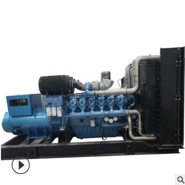 潍柴500KW柴油发电机组 博杜安大型足功率常用无刷发电机500千瓦