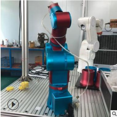 热销小工业机器人 轻巧桌面型 可用于产线 6轴机机械手