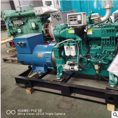 工厂车间学校发电设备 200KW柴油发电机机组房地产三相发电机机组