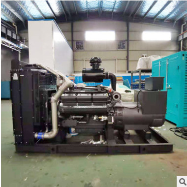 厂家批发无锡动力500KW柴油发电机组 大型静音拖车柴油发电机组