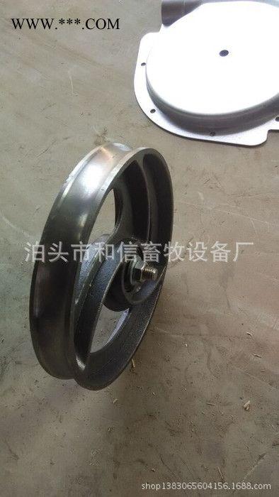 新型猪场自动化料线配件 275克镀锌层转角轮 防腐性能加倍