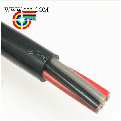 津远华RVV7芯1平方软护套7芯国标纯铜黑色控制信号工控电线
