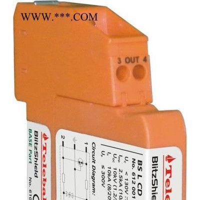 供应Telebahn工控避雷器,BS L CD控制线浪涌,工控防雷避雷器