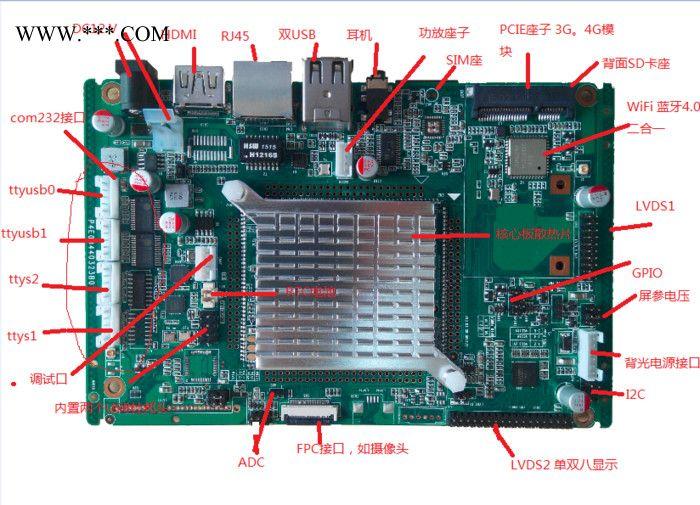 Coretex A9 ARMAM8-3500工控电脑产品
