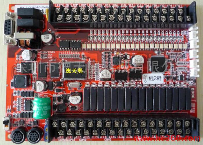 供应德天奥SL1N-44MR-4AD-2DA国产PLC国产三菱PLC