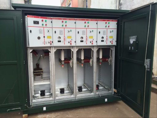 捷恩XGN15-6 XGN15-6环网柜 SF6环网柜 6KV高压开关柜VS1-6真空断路器