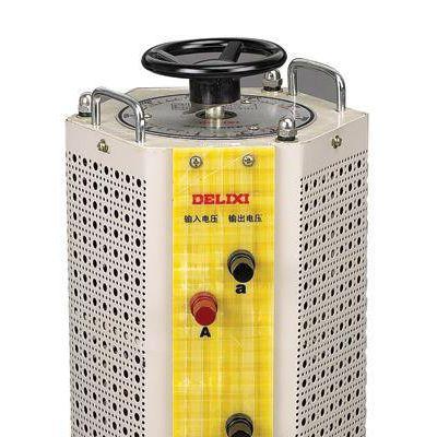 接触式调压器 TSGC2-9KVA德力西三相调压电源