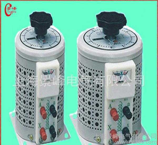 供应 单相接触式调压器.0-250可调