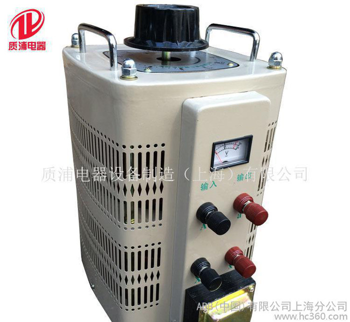 TDGC2-10KVA 接触式调压器 0-500V可调 单相