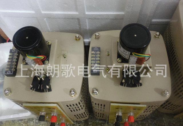 专业出售 220V电机电动调压器TDGC2-6KVA 可调自