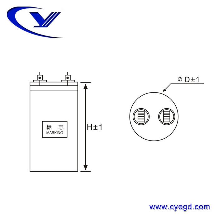 纯源【厂家批发】冷水机 漏磁式 制雪机 EPS电源电容器定制CBB65 50uF/450V.AC