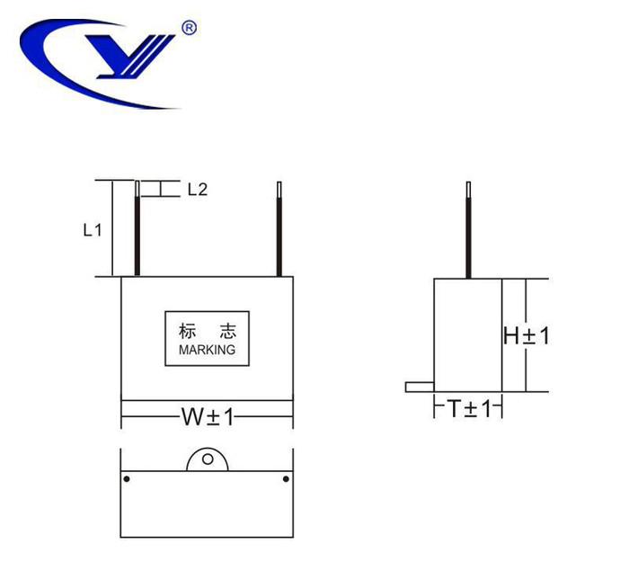 纯源【厂家批发】RC组件 灭弧 火花保护器电容器定制 MCR-P 0.22μF+R220/2W 250V