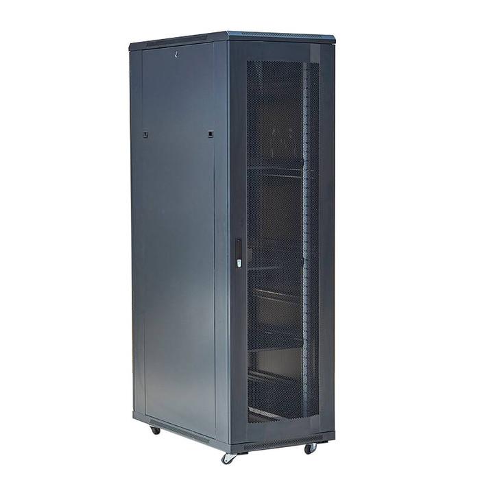 【华兴】网门 1.6米32U机柜  机柜 服务器机柜  标准服务器机柜 网络服务器机柜  户外机柜