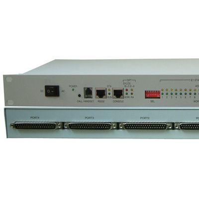 【电信级】16E1+100M以太网 PDH光端机 双电源 F