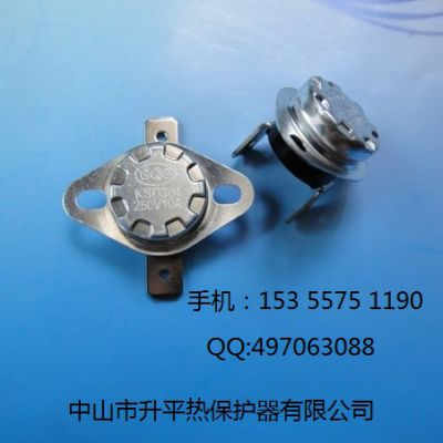 KSD301 10A 250V CQC温度开关温控器温度保护器