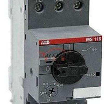 ABB电动机启动器MS116-16原装行货 电动机保护器12A-16A