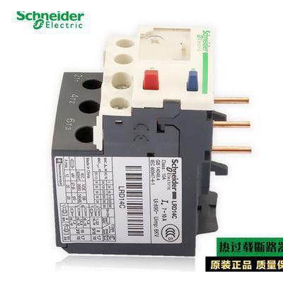 施耐德热过载继电器LRD14C热继电热过载保护器 假一罚