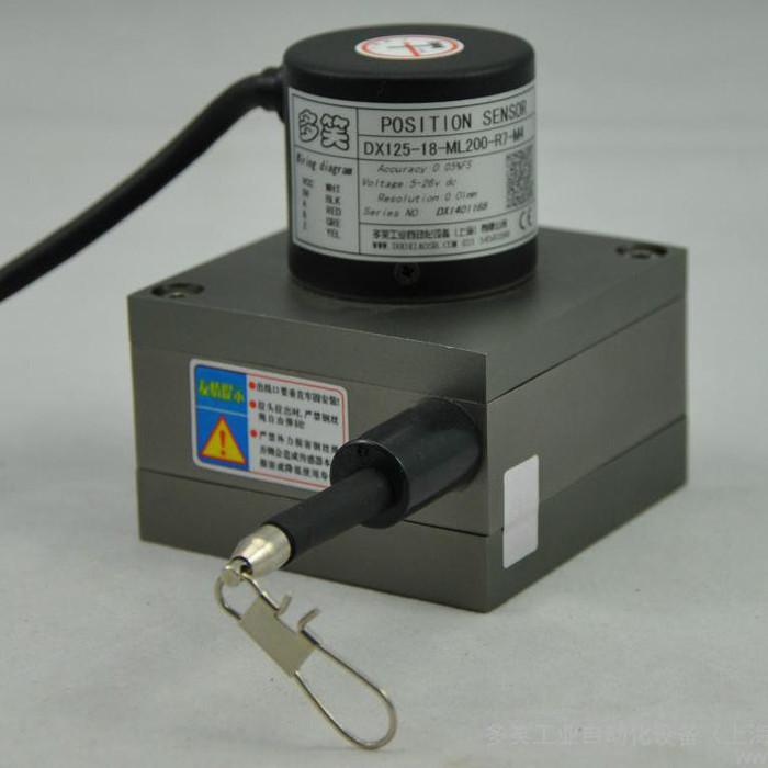 供应多笑DX125拉绳位移传感器、拉绳编码器