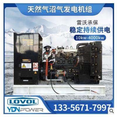 伊达能雷沃动力40kw养猪场沼气燃气发电机组设备