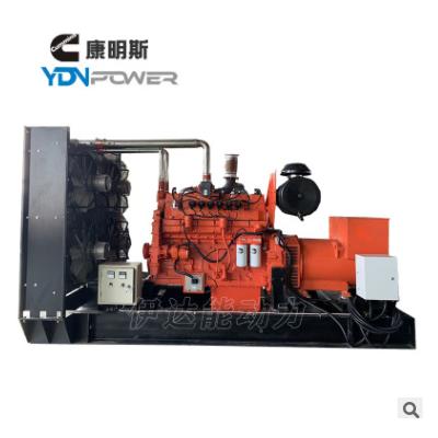 伊达能雷沃动力小型60kw污水处理用燃气发电机组设备
